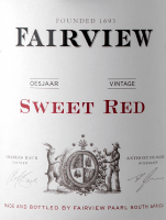 Vorschau: Sweet Red 2017 - Fairview Wines