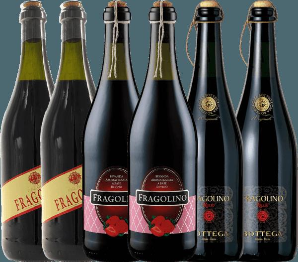 6er Probierpaket - erdbeer-fruchtiges Trinkvergnügen mit Fragolino von VINELLO