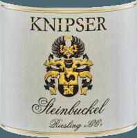 Vorschau: Steinbuckel Riesling Großes Gewächs 2018 - Knipser