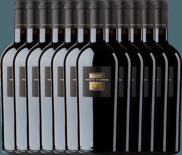 12er Vorteils-Weinpaket - Sessantanni Primitivo di Manduria DOC 2017 - Cantine San Marzano