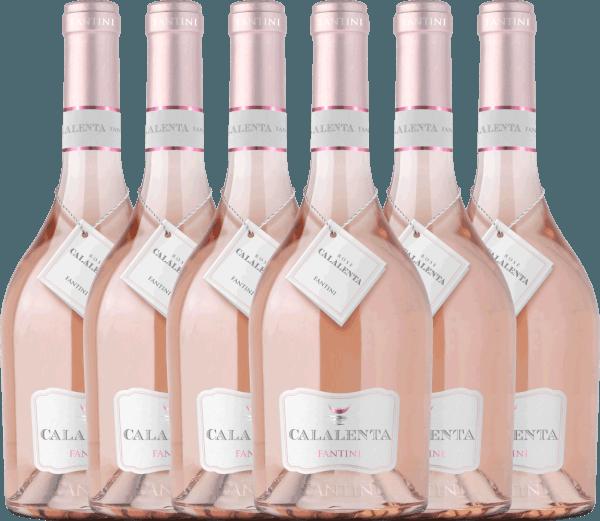 6er Vorteils-Weinpaket - Fantini Calalenta Merlot Rosato 2019 - Farnese von Farnese Vini