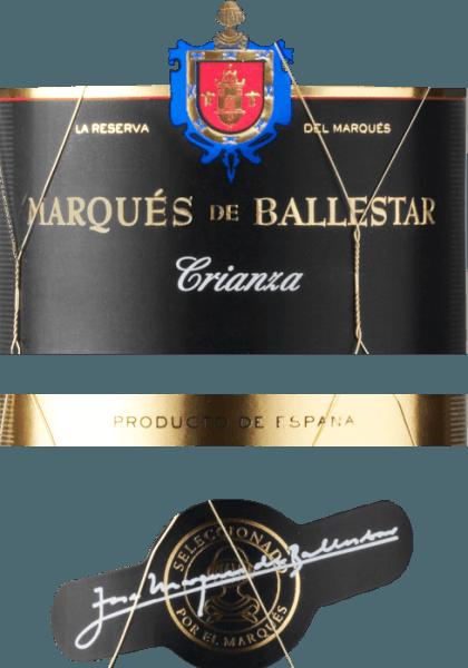 Crianza Cariñena DO 2016 - Marqués de Ballestar von Grandes Vinos
