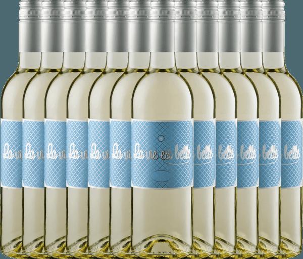 12er Vorteils-Weinpaket - La vie est belle blanc 2020 - La vie est belle