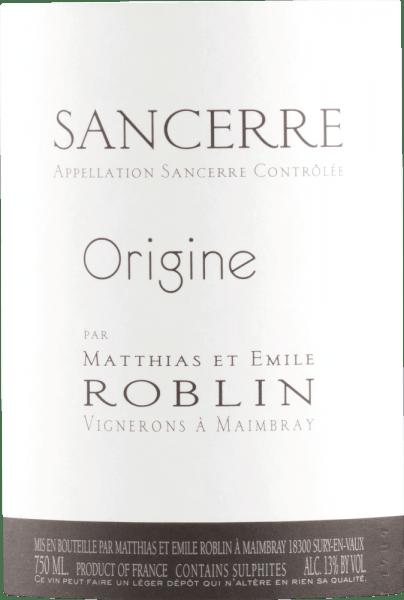 Sancerre Rouge 2017 - Roblin Sancerre von Roblin Sancerre