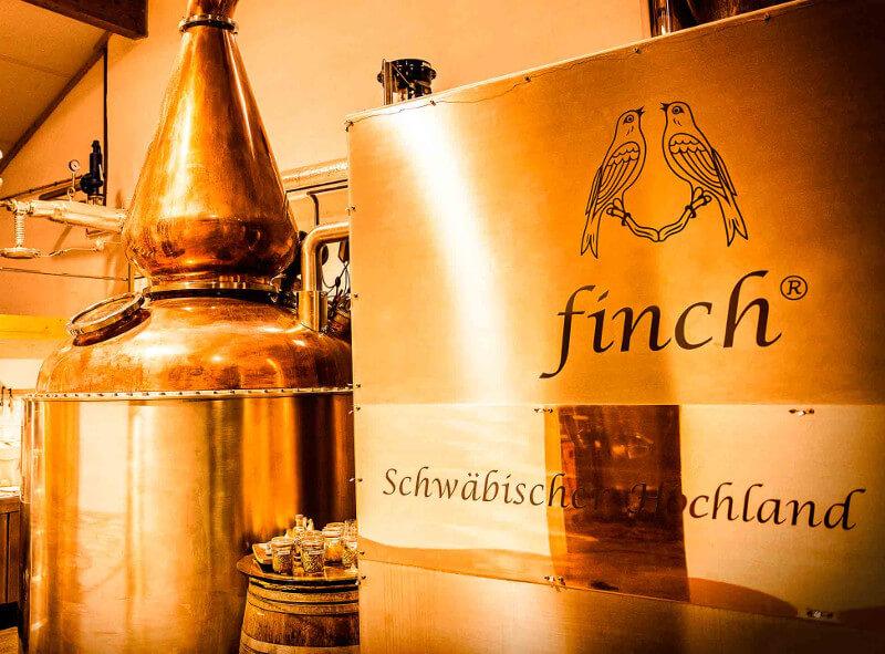 Finch Whisky Destillerie Schwäbische Alb
