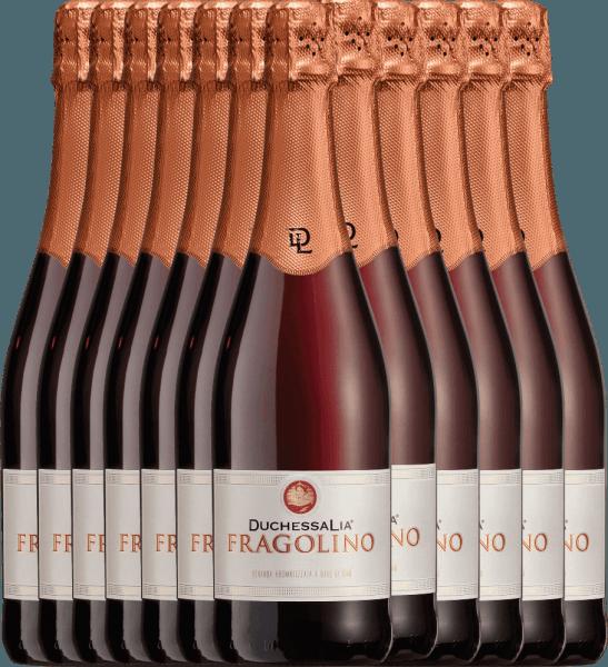 12er Vorteilspaket - Fragolino Rosso - Duchessa Lia