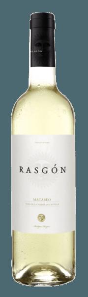 Der Rasgón Macabeo von Bodegas Rasgón funkelt in einem hellen Goldton im Glas und entfaltet dabei sein wunderbar frisches Bouquet mit den Aromen von Zitrusfrüchten und grünen Äpfeln. Dieser elegante und erfrischende Weißwein aus den Rebsorten Macabeo und Sauvignon Blanc zeigt sich fruchtig, knackig und elegant - ein typischer spanischer Weißwein, der nicht nur im Sommer ein Genuss ist. Speiseempfehlung für den Rasgón Macabeo Genießen Sie diesen halbtrockenen Weißwein zu Salaten, Meeresfrüchten, Dorade im Salzmantel mit Grillgemüse oder zu Desserts.