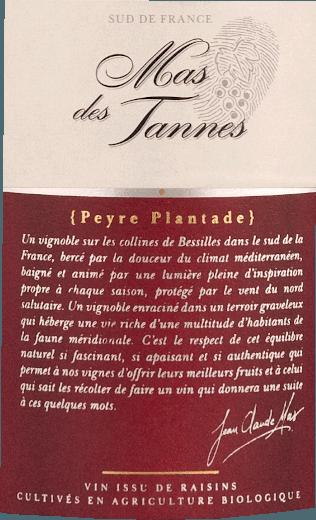 Mas de Tannes Classique Rouge Bio 2018 - Domaine Paul Mas von Domaine Paul Mas