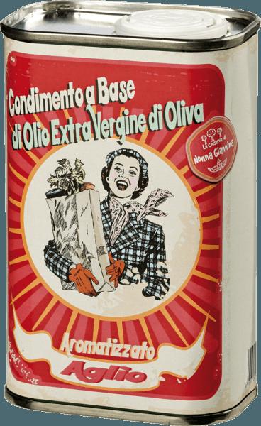 Olio Extra Vergine di Oliva all'Aglio 0,25 l - Tenuta Sant'Ilario
