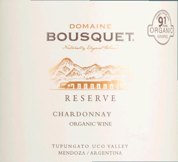 Chardonnay Tupungato Reserve 2018 - Domaine Bousquet von Domaine Bousquet