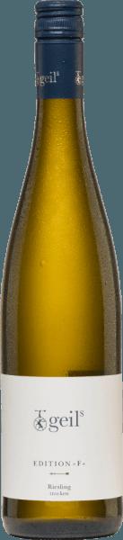 Edition F Riesling trocken 2020 - Sekt- und Weingut Geils