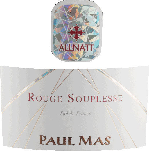 Allnatt Rouge Souplesse 2018 - Domaine Paul Mas von Domaine Paul Mas
