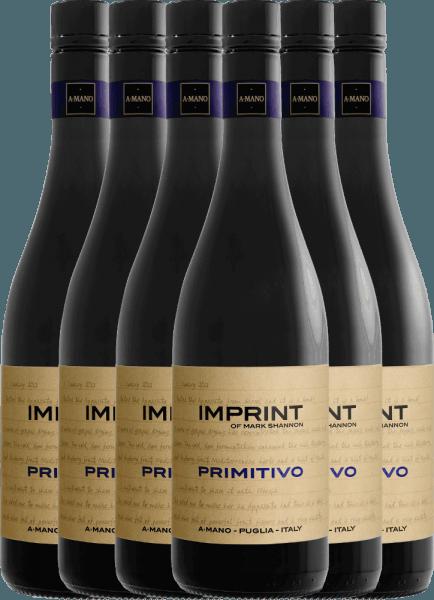 6er Vorteils-Weinpaket - Imprint Primitivo Puglia 2019 - A Mano