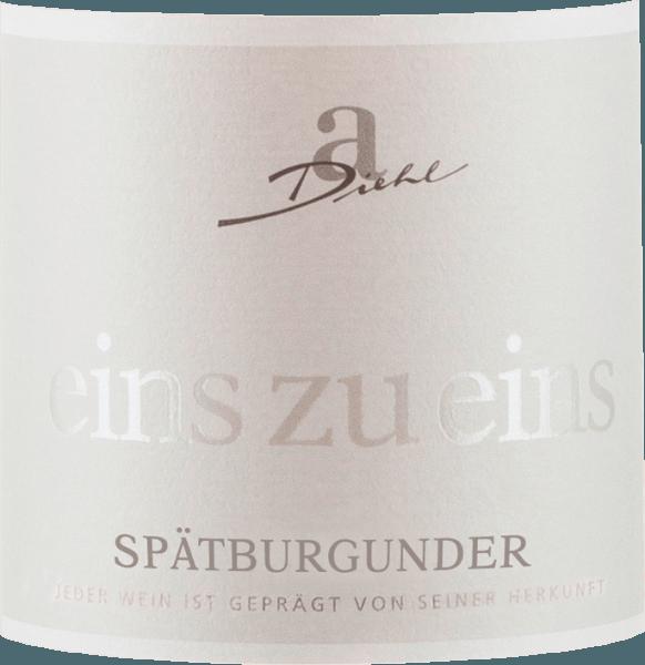 Spätburgunder Eins zu Eins trocken 2018 - A. Diehl von Weingut A. Diehl
