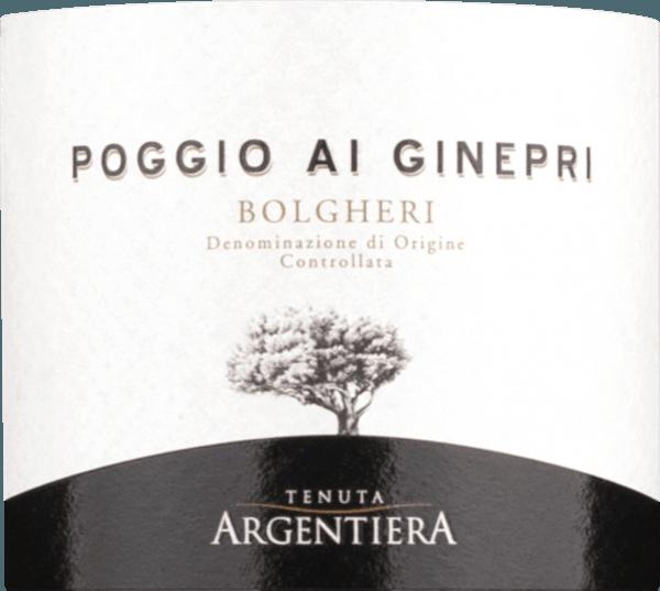 Poggio Ai Ginepri Bolgheri DOC 2017 - Tenuta Argentiera von Tenuta Argentiera