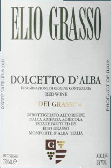 Dolcetto d'Alba dei Grassi DOC 2019 - Elio Grasso von Elio Grasso