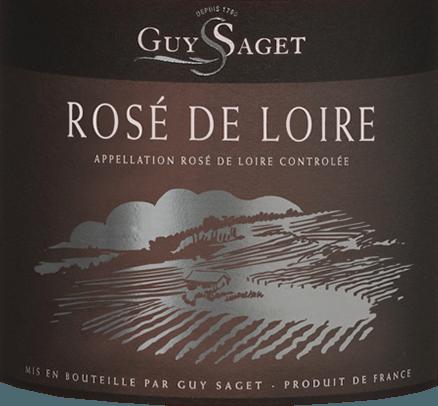 Rosé de Loire AOC 2019 - Guy Saget von Domaine Guy Saget