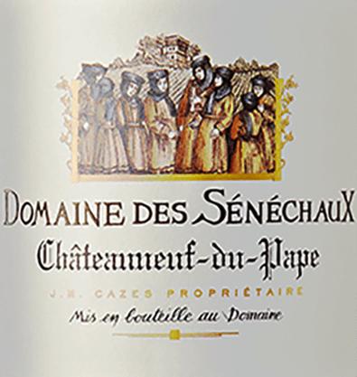 Rouge Châteauneuf-du-Pape AOC 2016 - Domaine des Sénéchaux von Domaines Cazes