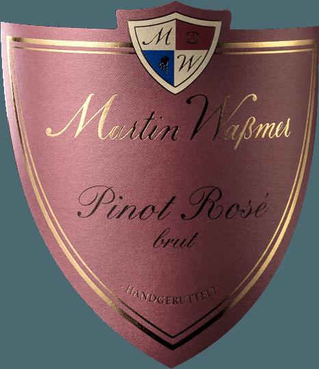 Pinot Rosé Sekt Brut 2016 - Martin Waßmer von Martin Waßmer