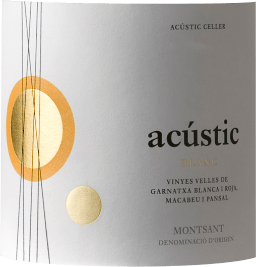 Acústic Celler Blanc Montsant DO 2017 - Bodegas Acústic von Bodegas Acústic