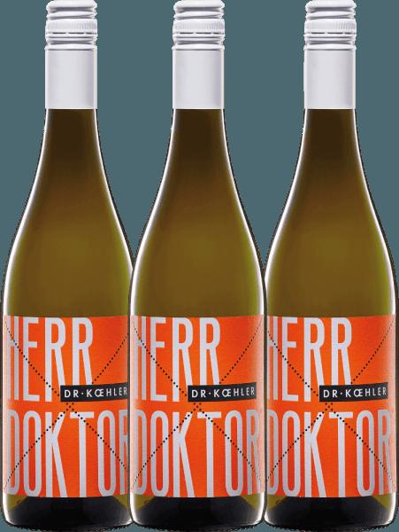 3er Vorteils-Weinpaket - Herr Doktor 2019 - Dr. Koehler