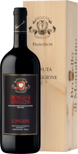 Brunello di Montalcino DOCG 1,5 l Magnum in wooden case 2014 - Tenuta il Poggione