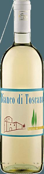 Der Bianco di Toscana IGT von Renzo Masi ist eine Cuvee aus Trebbiano und Chardonnay und präsentiert sich in einem hellen strohgelb im Glas. In der Nase sind duftig-fruchtige Aromen von knackigen Äpfeln und Birnen wahrzunehmen. Am Gaumen wirkt er leicht und frisch mit den zarten Fruchttönen nach Zitrus und Mirabelle und einem Hauch von Kräutern. Speiseempfehlung für den Bianco di Toscana IGT von Renzo Masi Genießen Sie diesen trockenen Weißwein als Aperitif oder zu Antipasti und Tapas, Fisch und Schalentieren, oder zu Pasta mit hellen Soßen.