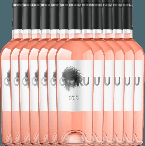 12er Vorteils-Weinpaket - El Goru Rosado Jumilla DO 2020 - Ego Bodegas