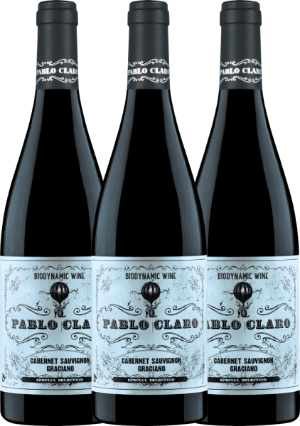 3er Vorteils-Weinpaket - Pablo Claro Special Selection Tinto 2019 - Dominio de Punctum