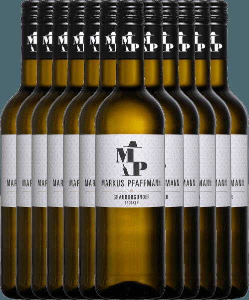 12er Vorteils-Weinpaket - MP Grauburgunder trocken 2020 - Markus Pfaffmann
