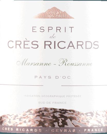 Marsanne Roussanne IGP 2019 - Esprit de Crès Ricards von Domaine Paul Mas