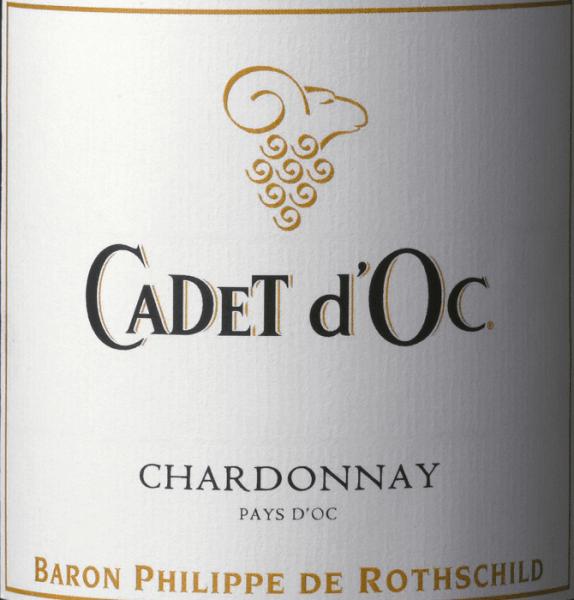 Cadet d'Oc Chardonnay 2019 - Baron Phillippe de Rothschild von Baron Philippe de Rothschild SA