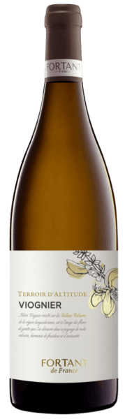 Viognier Terroir d'Altitude 2018 - Fortant de France