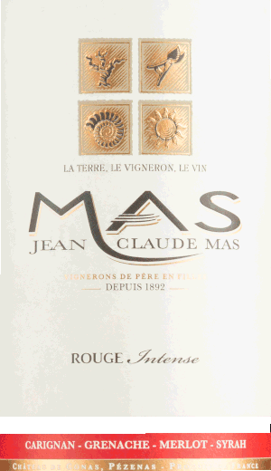 Rouge Intense 2018 - Jean-Claude Mas von Domaine Paul Mas