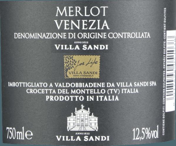 Merlot DOC Venezia 2018 - Villa Sandi von Villa Sandi