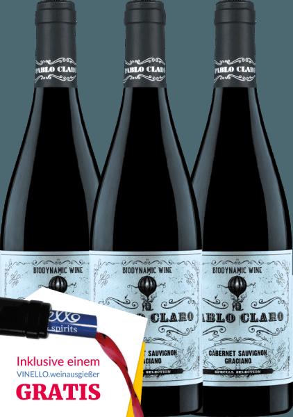 3er Vorteils-Weinpaket - Pablo Claro Special Selection Tinto 2018 - Dominio de Punctum von Dominio de Punctum
