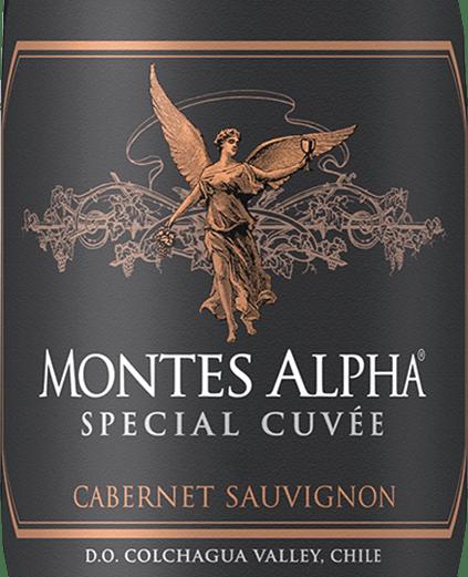 Mit dem Montes Montes Alpha Special Cuvée Cabernet Sauvignon kommt ein erstklassiger Rotwein ins Weinglas. Hierin offeriert er eine wunderbar dichte, purpurrote Farbe. Nach dem ersten Schwenken, offenbart dieser Rotwein eine hohe Viskosität, was sich in deutlichen Kirchenfenstern am Glasrand zeigt. Dieser sortenreine chilenische Wein offenbart im Glas herrlich ausdrucksstarke Noten von Schwarzen Johannisbeeren, Heidelbeeren, Schwarzkirschen und Maulbeeren. Hinzu gesellen sich Anklänge von Bitterschokolade, Zimt und schwarzem Tee. Der Montes Montes Alpha Special Cuvée Cabernet Sauvignon präsentiert sich dem Wein-Genießer herrlich trocken. Dieser Rotwein zeigt sich dabei nie grobschlächtig oder karg, wie man es bei einem Wein Premium- und Lagenweinsegment erwarten kann. Druckvoll und facettenreich präsentiert sich dieser dichte und samtige Rotwein am Gaumen. Die Fruchtsäure des Montes Alpha Special Cuvée Cabernet Sauvignon ist dabei auffallend zurückhaltend und macht diesen Wein somit herrlich geschmeidig. Das Finale dieses jugendlichen Rotwein aus der Weinbauregion Valle Central, genauer gesagt aus Valle de Rapel, besticht schließlich mit beachtlichem Nachhall. Der Abgang wird zudem von mineralischen Anklängen der von Granit und Ton dominierten Böden begleitet. Vinifikation des Montes Montes Alpha Special Cuvée Cabernet Sauvignon Dieser kraftvolle Rotwein aus Chile wird aus der Rebsorte Cabernet Sauvignon hergestellt. Im Valle Central wachsen die Reben, die die Trauben für diesen Wein hervorbringen auf Böden aus Granit und Ton. Offensichtlich wird der Montes Alpha Special Cuvée Cabernet Sauvignon auch von Klima und Weinbaustil Valle de Rapel bestimmt. Dieser Chilene kann im wahrsten Sinne des Wortes als Wein der Alten Welt bezeichnet werden, der sich außergewöhnlich eindrucksvoll präsentiert. Wenn die perfekte physiologische Reife sichergestellt ist werden die Trauben für den Montes Alpha Special Cuvée Cabernet Sauvignon ohne die Hilfe grober und wenig selektiver Mas