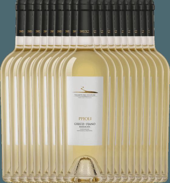 18er Vorteils-Weinpaket - Pipoli Greco Fiano IGT 2020 - Vigneti del Vulture