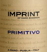 Vorschau: Imprint Primitivo Puglia 2019 - A Mano