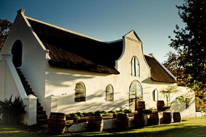 The Klein Constantia vineyard in South Africa