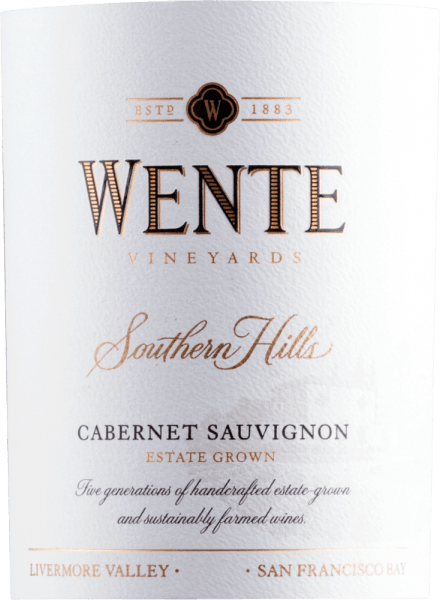Southern Hills Cabernet Sauvignon 2017 - Wente Vineyards von Wente Vineyards