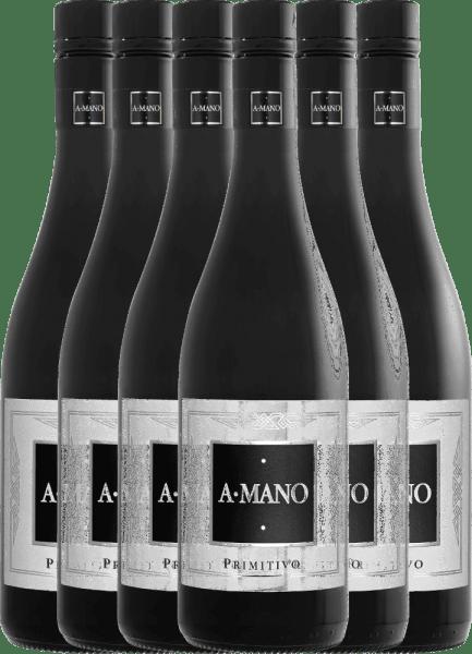 6er Vorteils-Weinpaket - Primitivo 2019 - A Mano