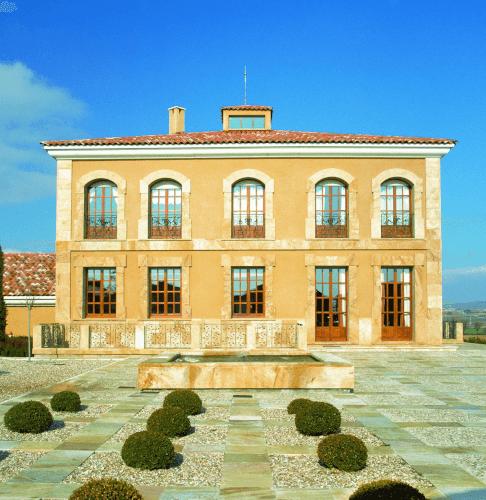 Das Herrenhaus in Ribera del Duero von Aster