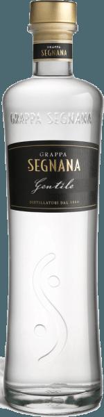 Der Grappa Gentile von Segnana ist ein feines Destillat, welches hauptsächlich aus den Chardonnay-Trestern des Weinguts Ferrari besteht, jedoch auch rote Rebsorten enthält die der Eleganz des Chardonnays eine feine Note geben.