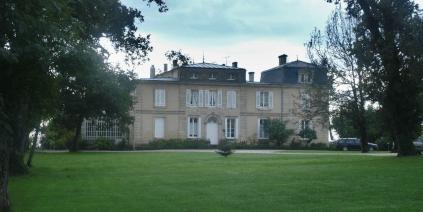 Ansicht des Château Belgrave