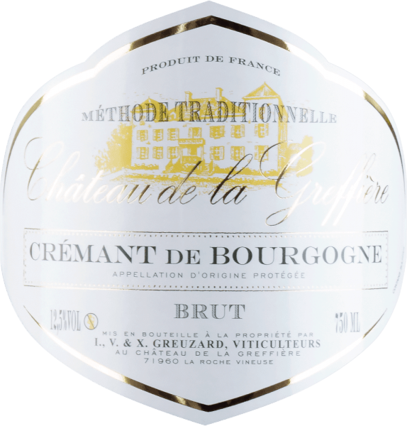 Crémant de Bourgogne Brut AOC - Château de la Greffière von Château de la Greffière