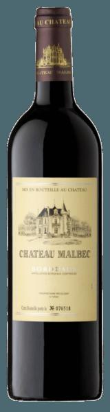 Château Malbec Bordeaux Rouge AOC - Châteaux & Domaines Castel