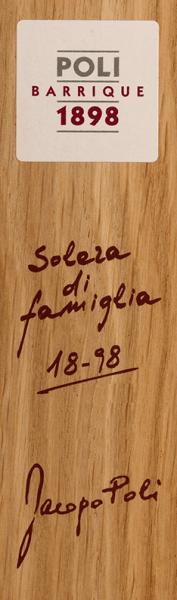 Poli Barrique Solera di famiglia Grappa in GP - Jacopo Poli von Jacopo Poli