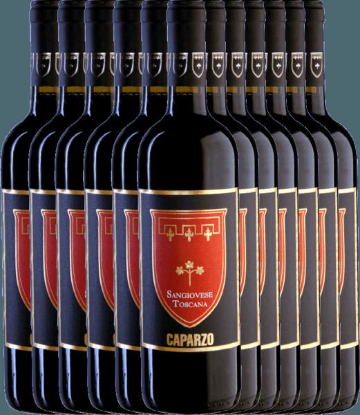 12er Vorteils-Weinpaket - Sangiovese Toscana IGT 2019 - Caparzo