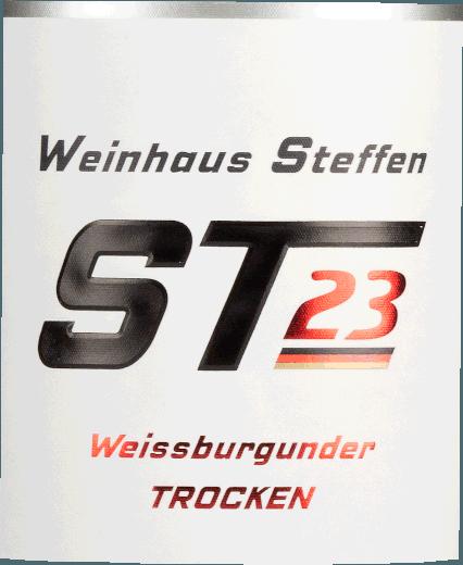 ST #23 Weissburgunder trocken 2017 - Weinhaus Steffen von Weinhaus Gebrüder Steffen